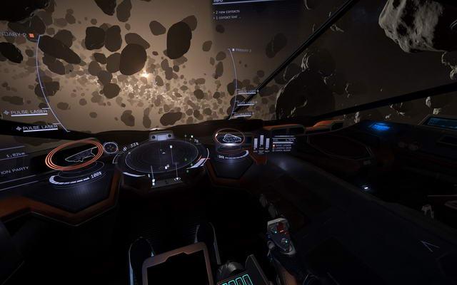 Interior and HUD