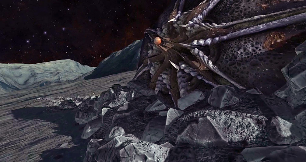 Second crashed Thargoid scout found