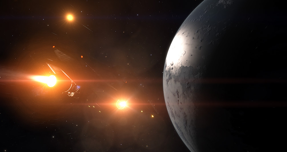 Elite: Dangerous 2.4 teaser trailer