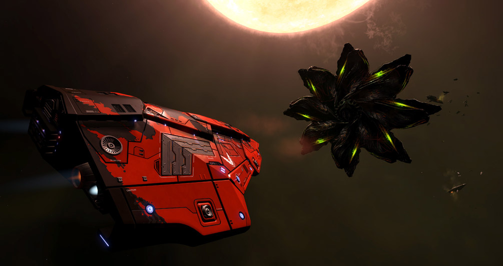 A tougher Thargoid vessel sighted - Galaxy leaders urging the public to remain calm