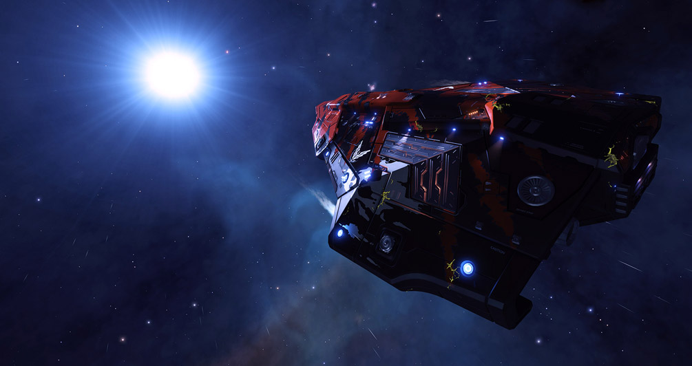 Taking a quick look at the state of Elite Dangerous