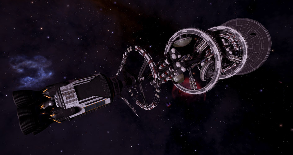 Your daily discoveries of generation ships