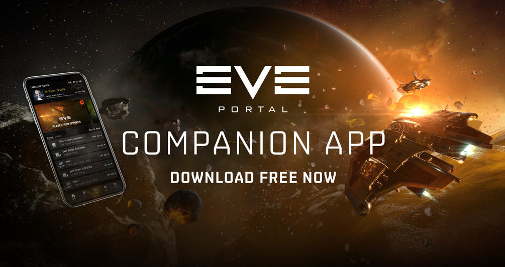 EVE gets a brand new companion app