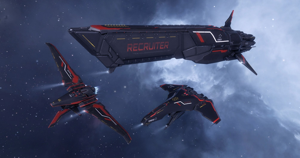 Major changes to EVE recruitment program