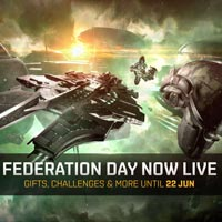 Federation day login rewards and ingame event