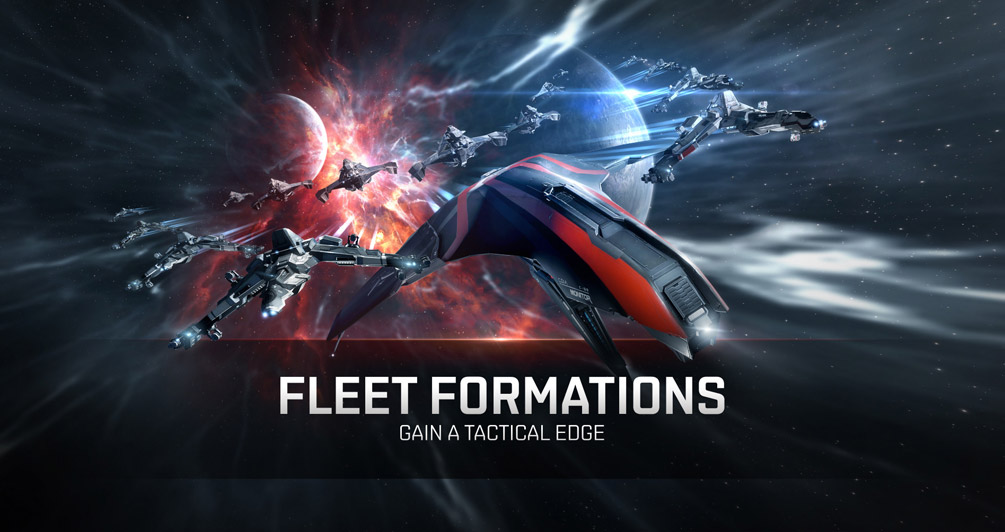 Fleet formations - landing on grid with style