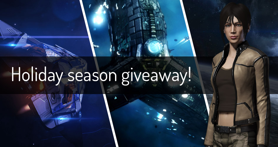 Share the jolly spirit with the holiday season giveaway!