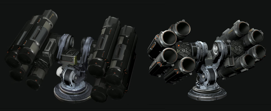 Weapon modules
