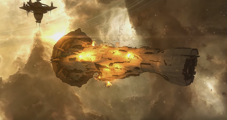 Explosions in EVE get a major visual upgrade