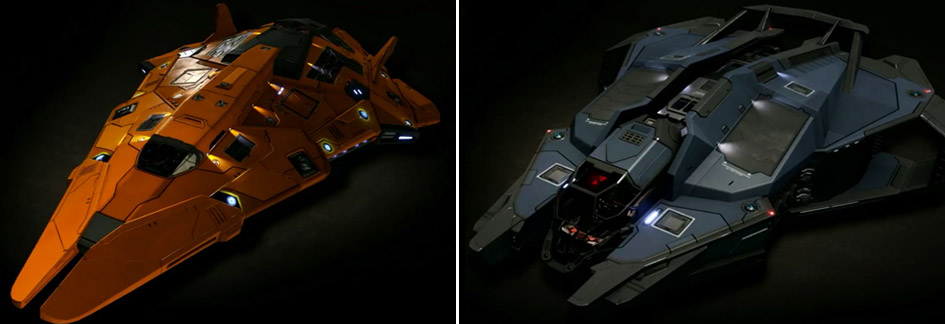 Ship kits - Python and Vulture