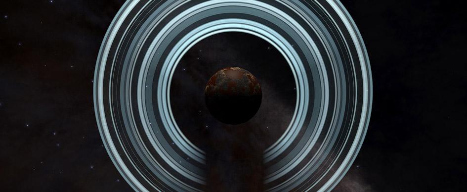 Ringed planet
