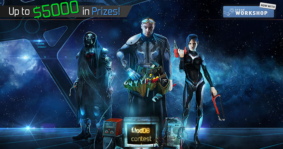 $5000 ModDB Competition for Starpoint Gemini Warlords!