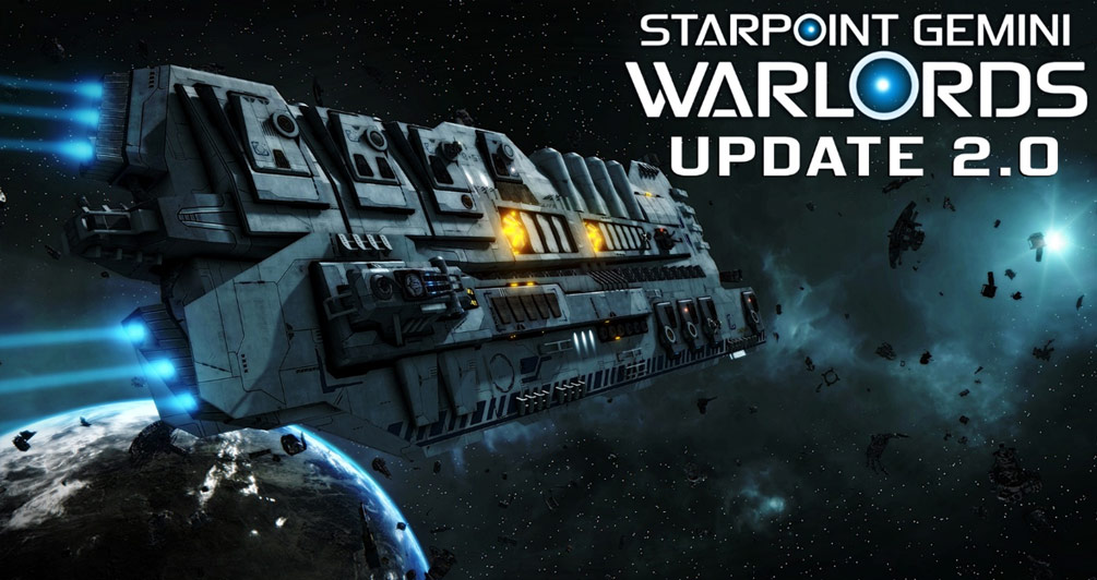 Starpoint Gemini Warlords: Update 2.0 now available