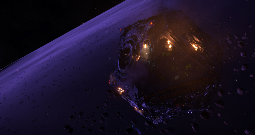 Incoming reports of major escalations – Thargoids are attacking the stations