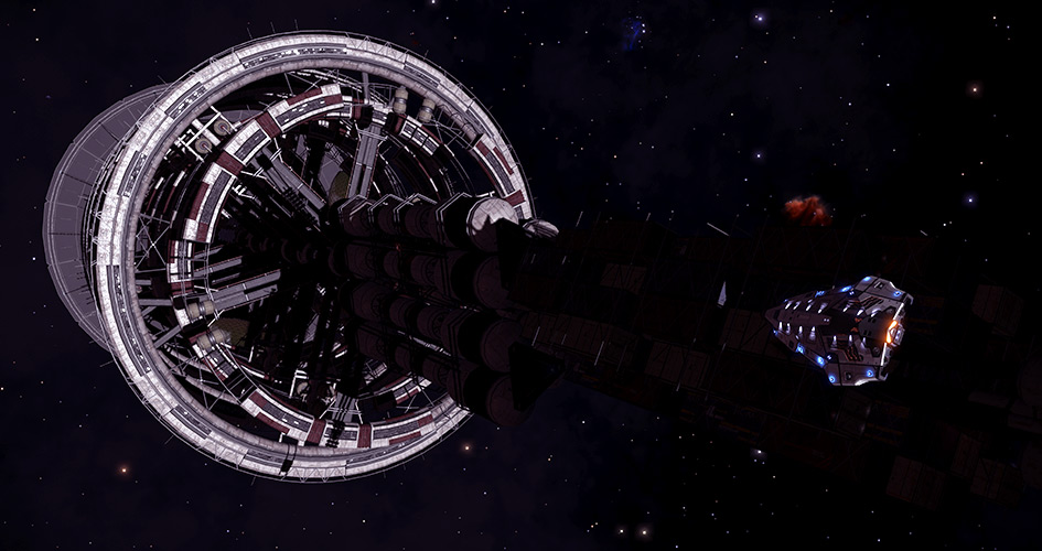 Another Generation ship discovered! The Venusian raided by unknown pirates