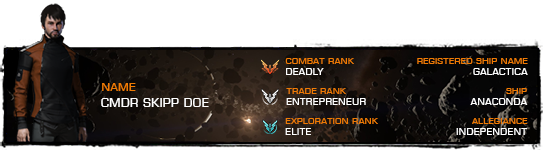Imperial rank progression - Page 2 - Elite: Dangerous PvE